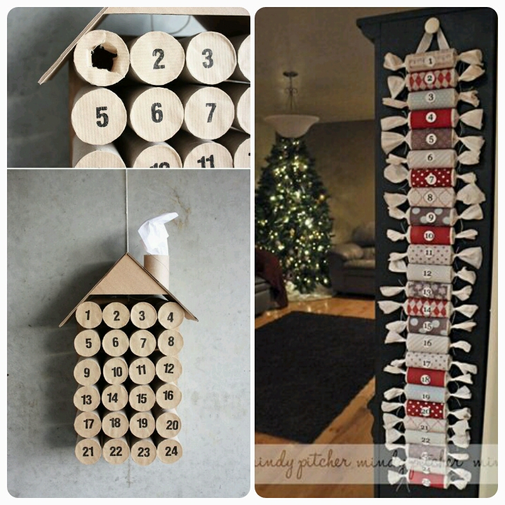 How to make your own advent calendar decoration for Advent calendar decoration