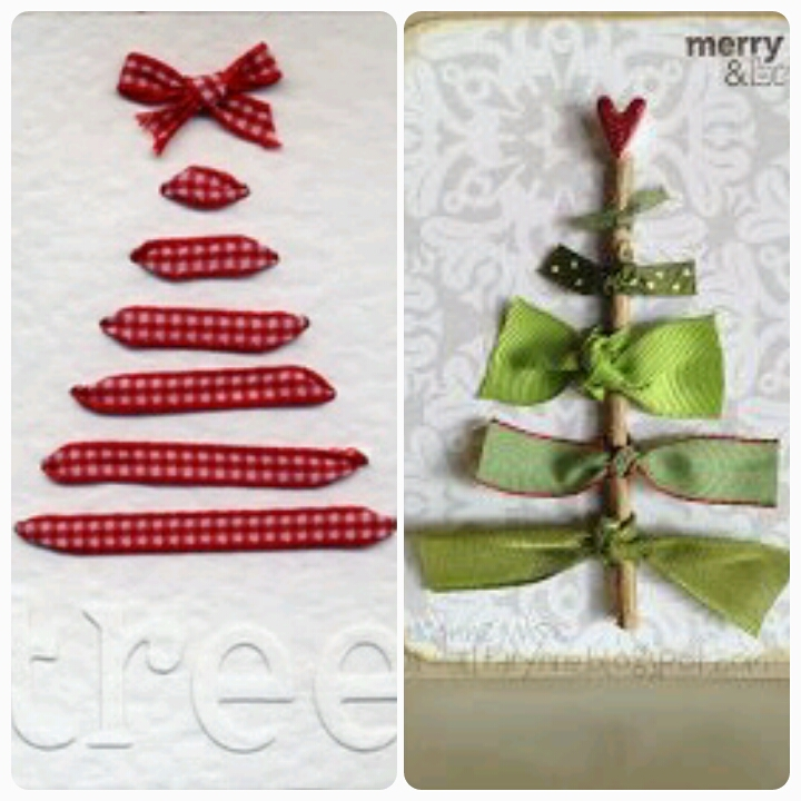The easiest Christmas cards ever - becoration