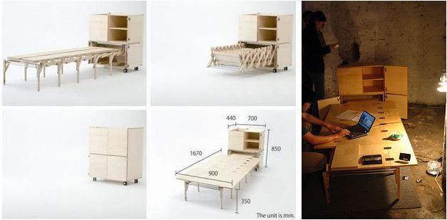 accordion table