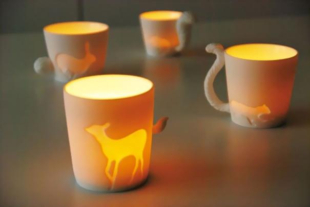 animal candle