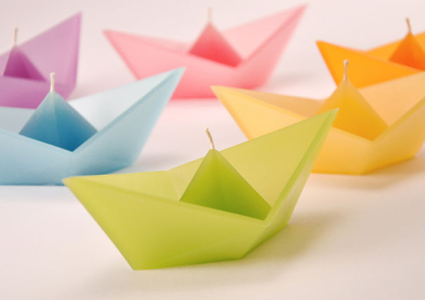 paperboat candle
