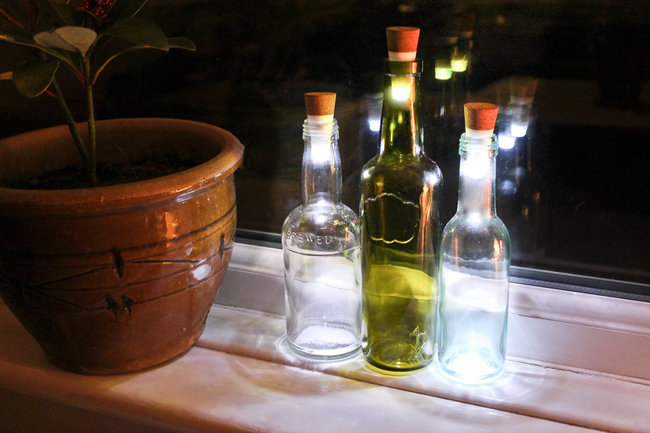 recycling wine bottles 15