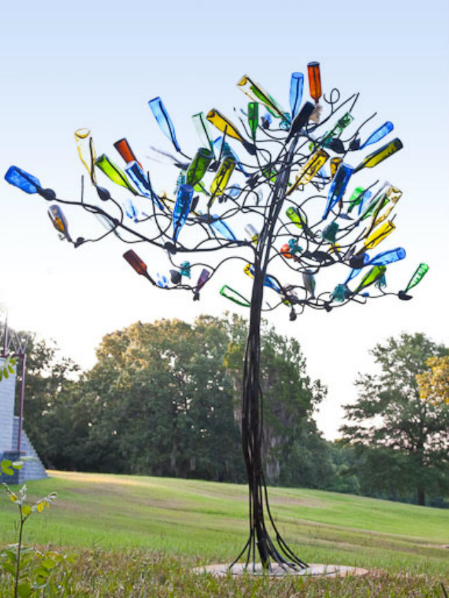 recycling wine bottles 17