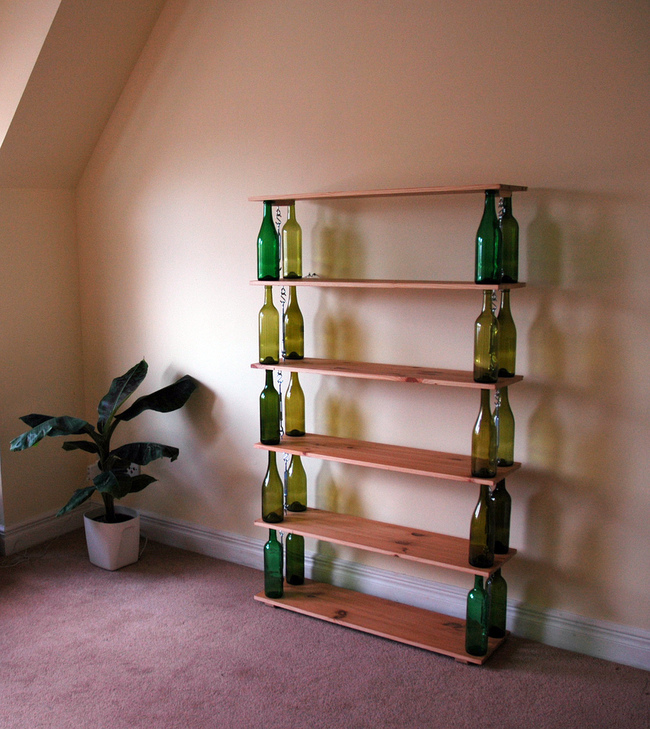 recycling wine bottles 2