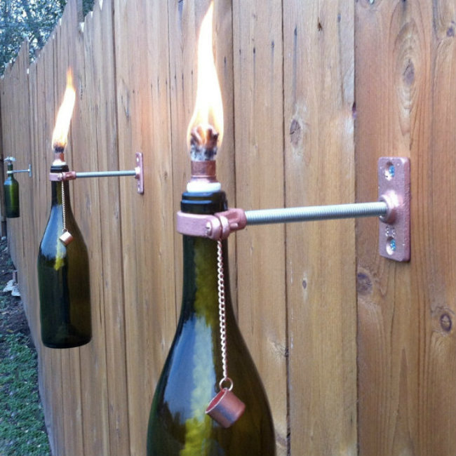 recycling wine bottles 4