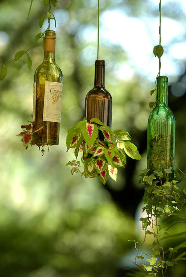 recycling wine bottles 5