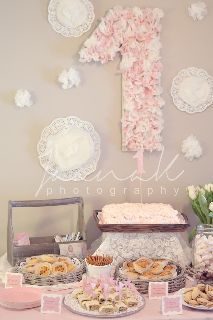 Little girl birthday party decor Becoration