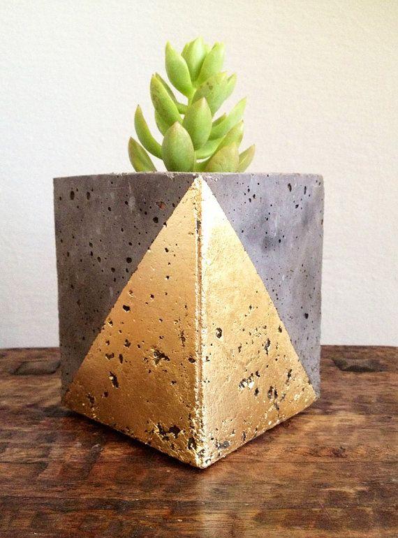 Geometric flowerpot