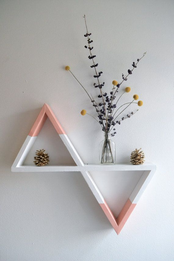 Geometric shelf