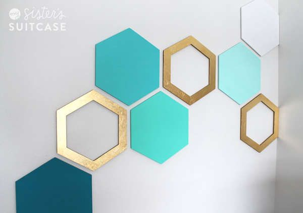 Geometric wallart 2