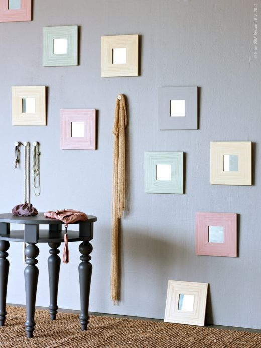 Ikea hacks malma mirror becoration - Espejo lots ikea ...
