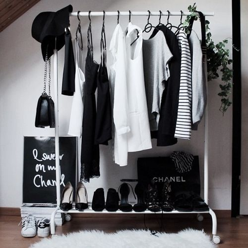 White and black sophisticated