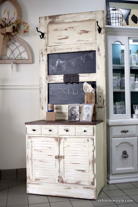 Ideas To Recycle Old Doors Decoration