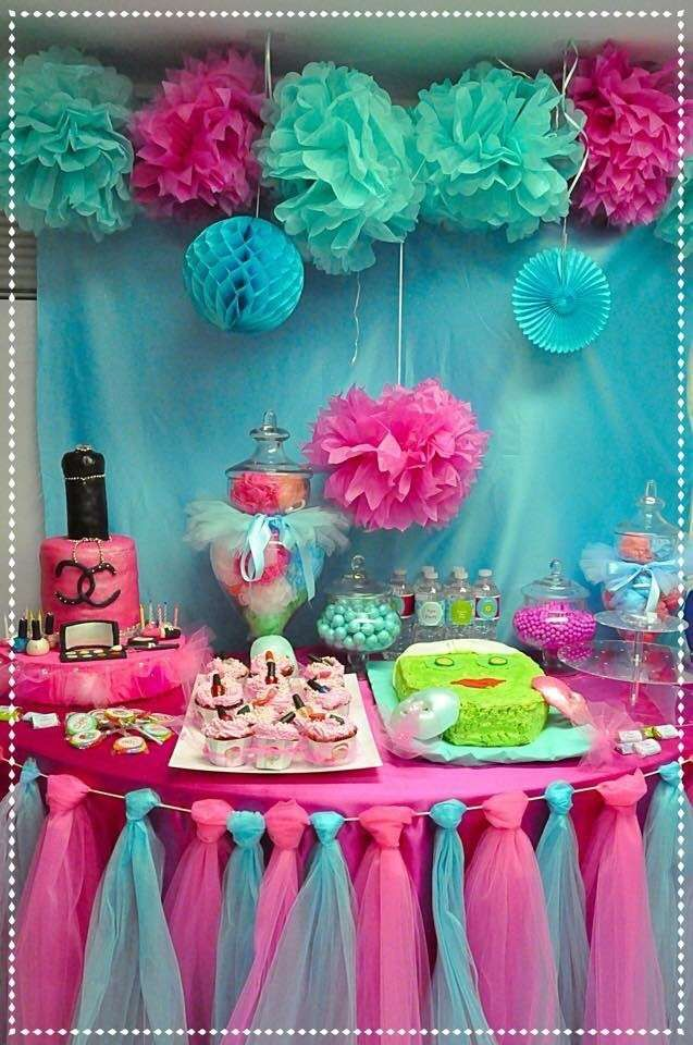 little girl birthday party decor becoration. Black Bedroom Furniture Sets. Home Design Ideas