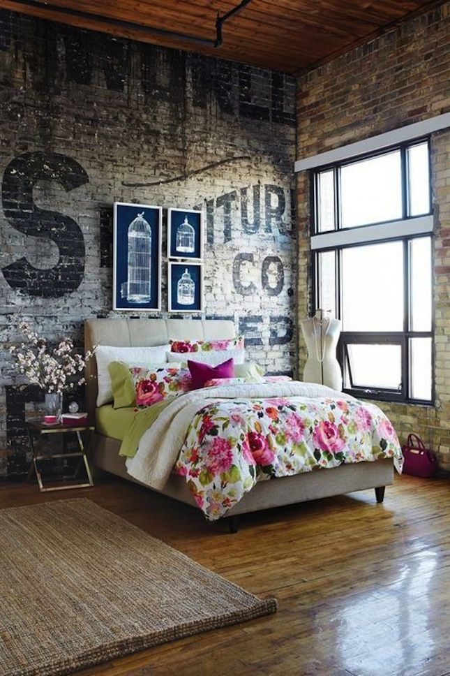 Industrial Decoration For Your Bedroom Becoration