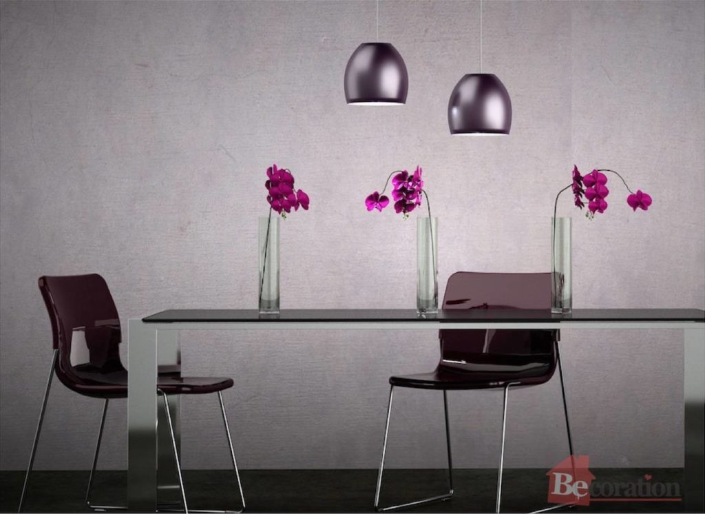 Decorating With Different Shades Of Purple Becoration