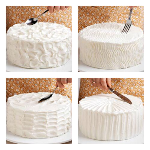 simple cake decor