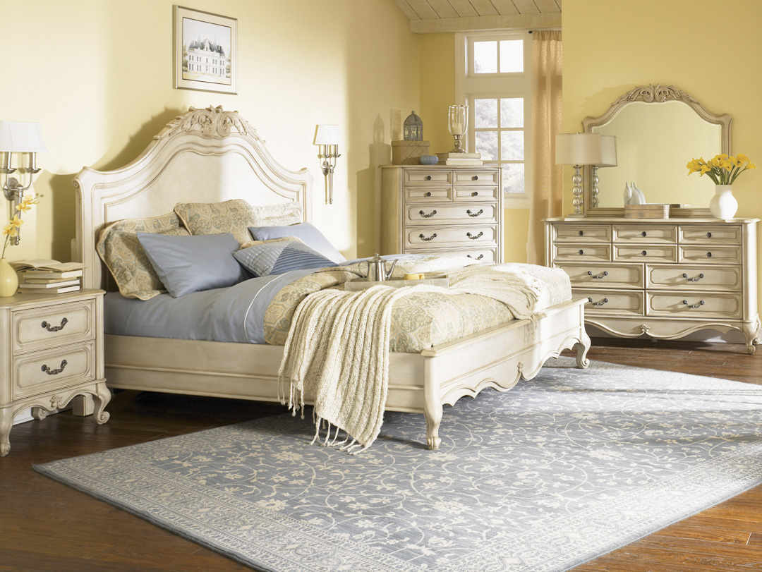 How to decorate your bedroom with a vintage style becoration for Decorate your bed