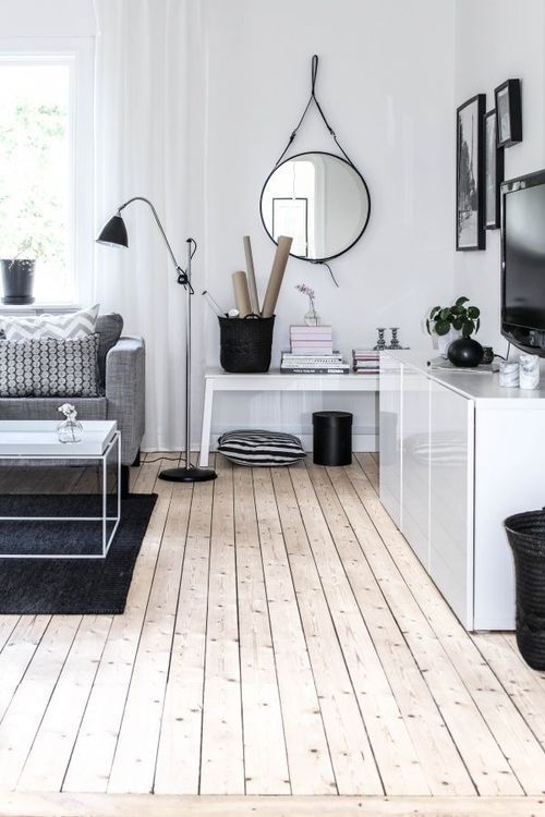 white black and wood