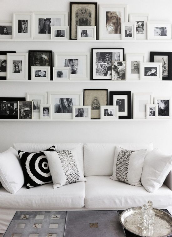white wall decor