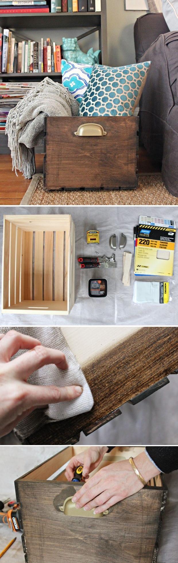 wood box 12