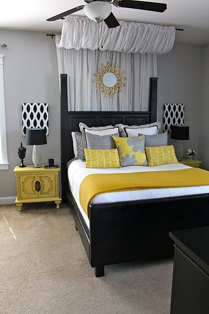 yellow bedroom 2