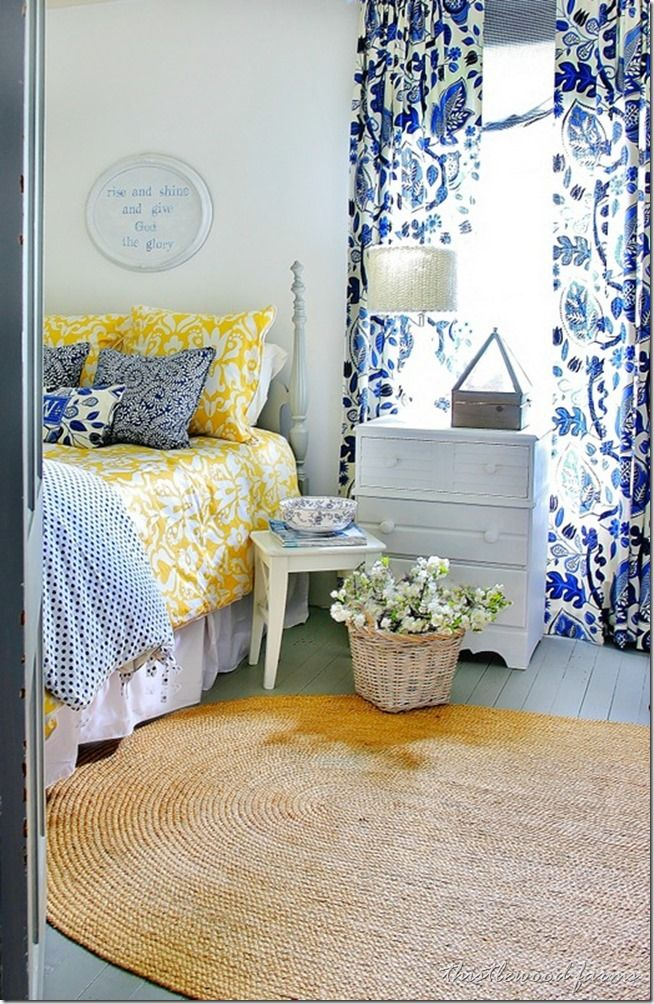 yellow bedroom 3