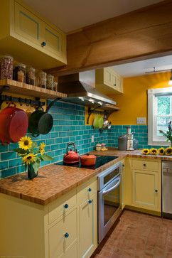 yellow kitchen 2