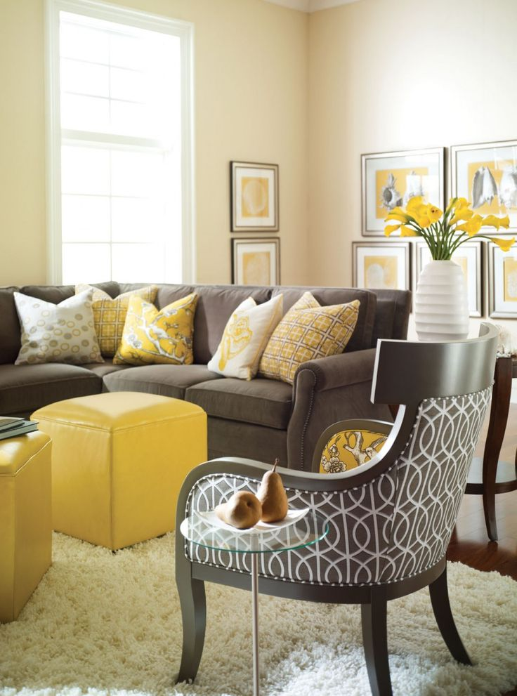 yellow living room decor yellow decor becoration 12725