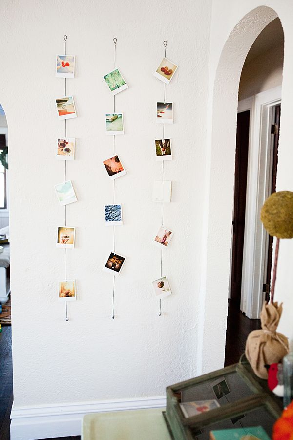 Polaroid decor – becoration