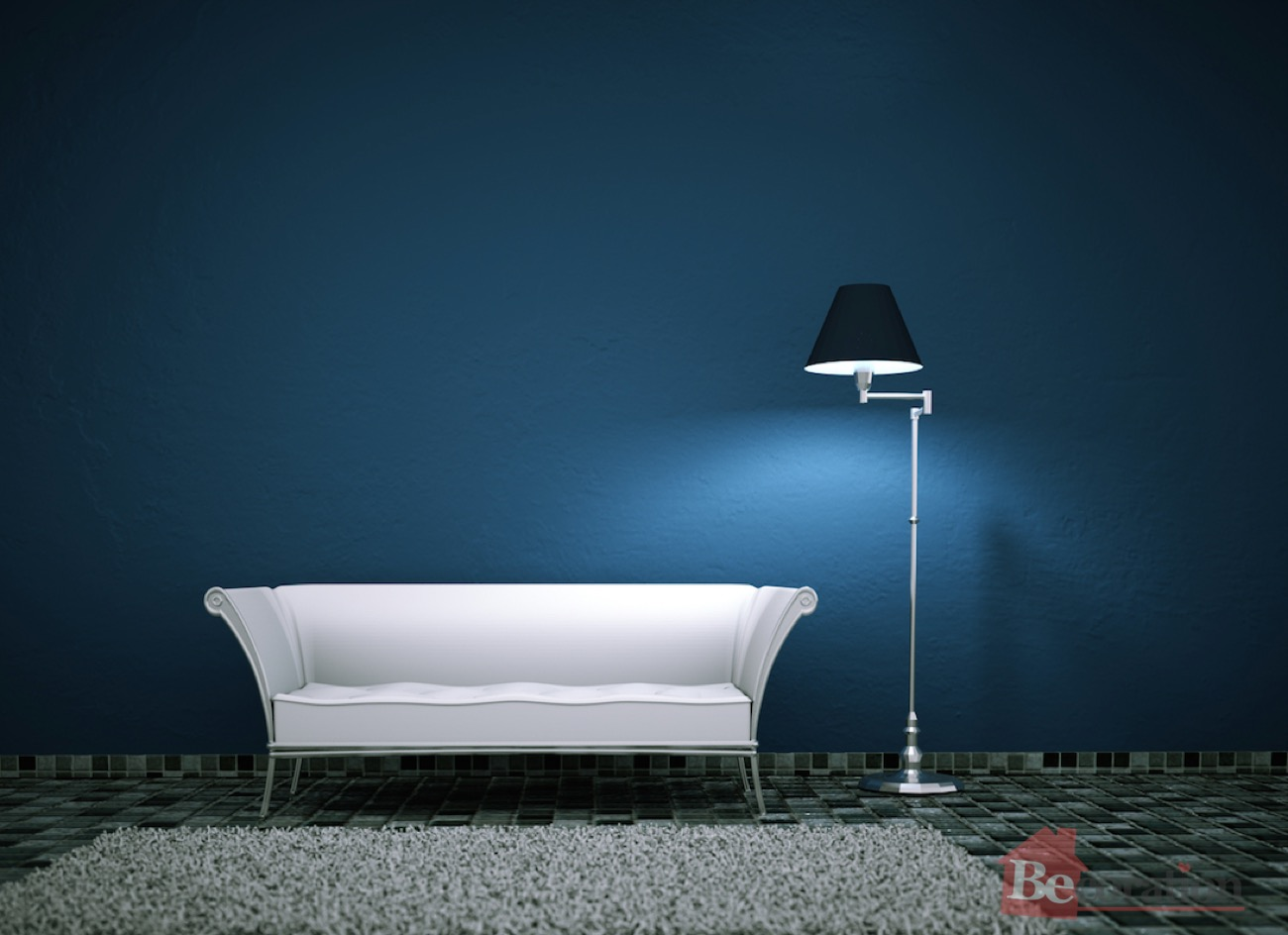 Decorating with different shades of blue part 2 becoration - Colores para paredes de salon ...
