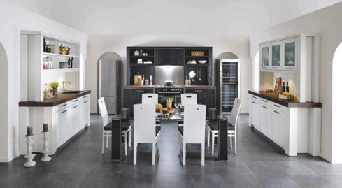 black-white-kitchen