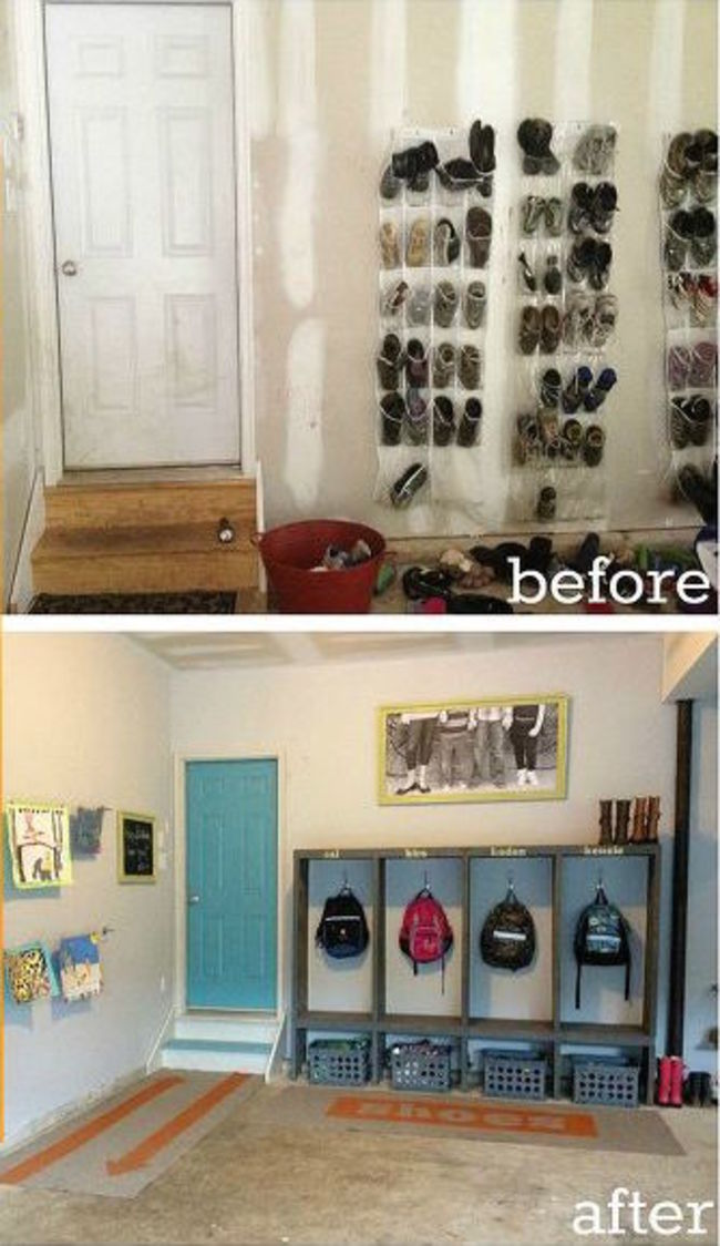 20 Ideas For Having A Well Organized Garage Becoration