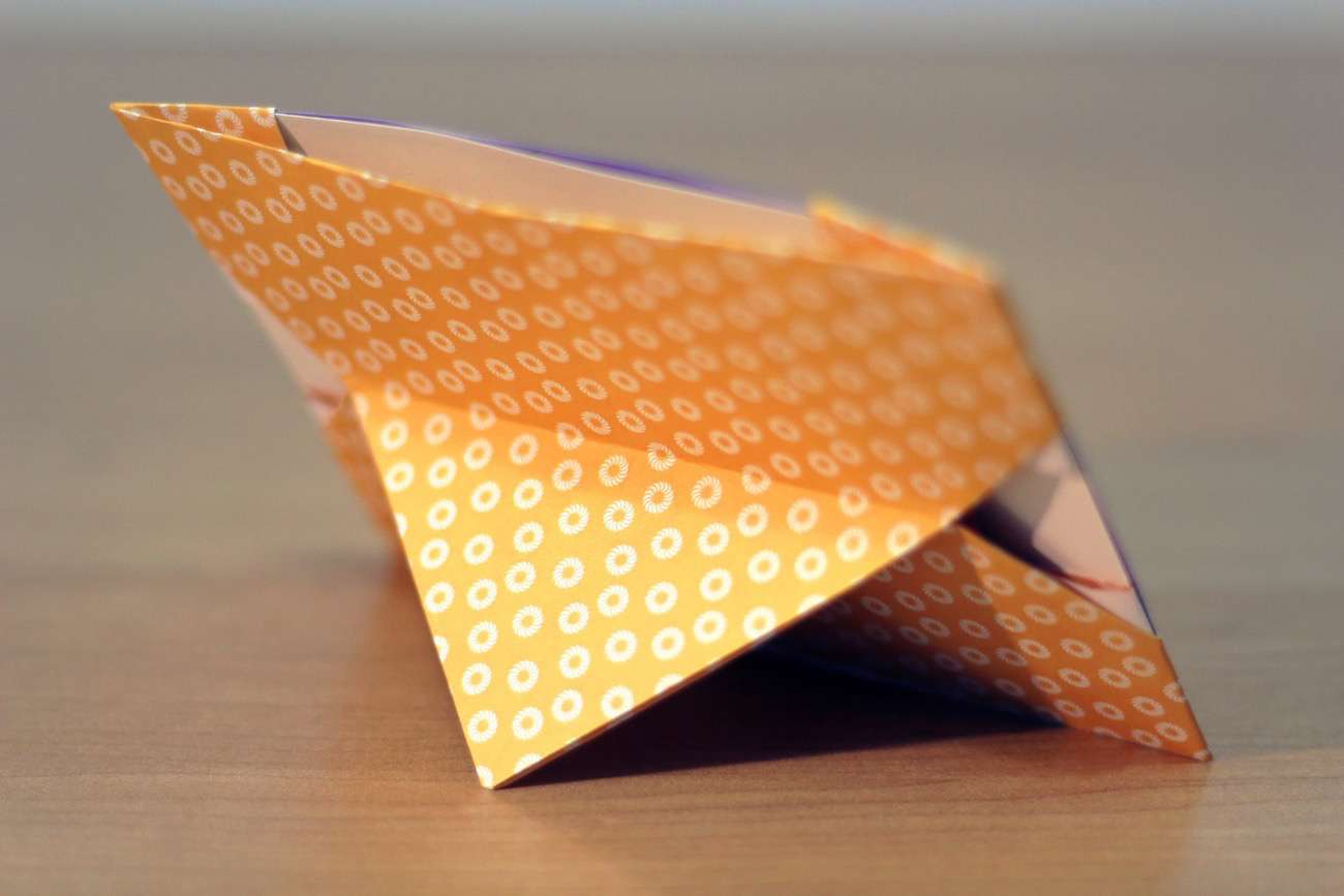 Diy Origami How To Make A Photo Frame With Paper