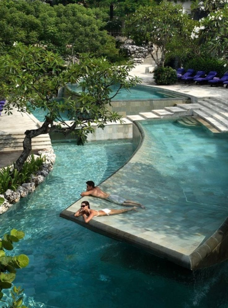 Amazing Pool At Different Levels