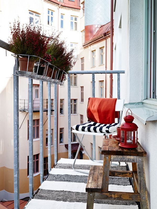 Cozy decorations for small terraces for Terrace party decoration ideas