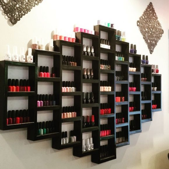 Nail Art Storage Ideas: How To Make Your Nail Polish Look Like A Work Of Art