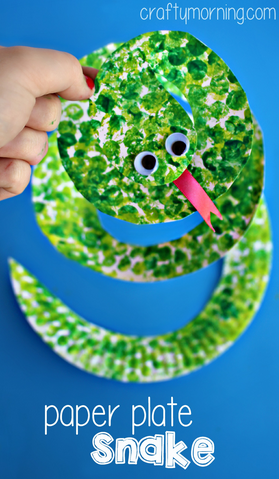 paper-plate-crafts-snake