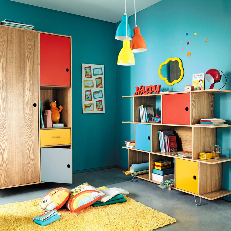 Ideas for keeping the kids bedroom tidy for Children s bedroom ideas