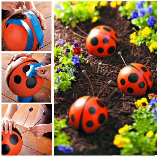 15 diy projects for decorating your garden