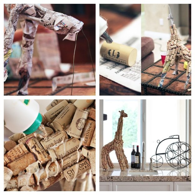 25 DIY projects made with wine corks