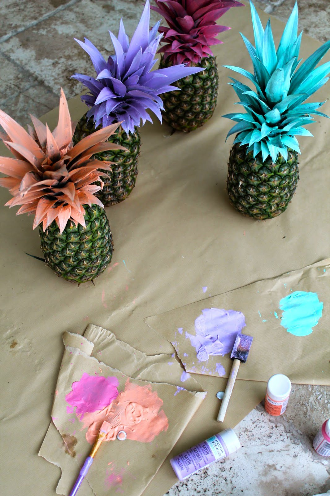 Original decorating ideas for summer parties