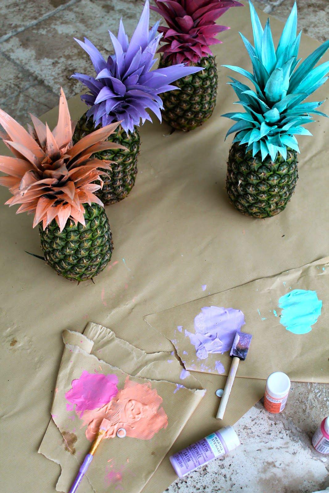Original decorating ideas for summer parties for Decoration original