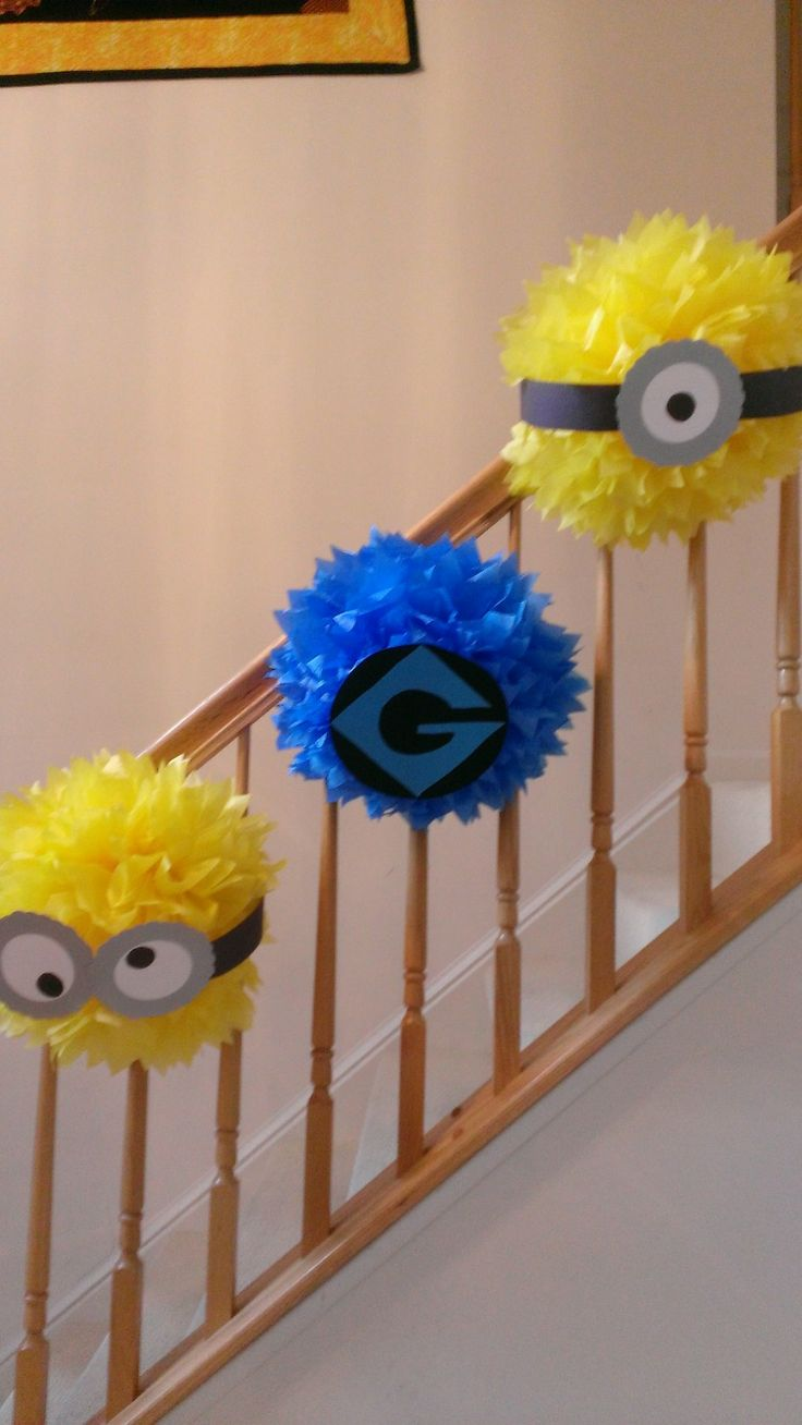 fun diy projects for decorating with minions. Black Bedroom Furniture Sets. Home Design Ideas