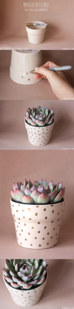 DIY-flowerpot