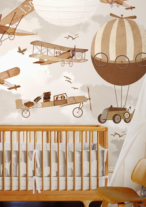 airplane-wallpaper-children