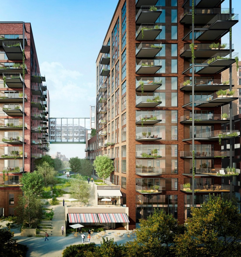 Nine elms a crystal pool that will make you fly becoration - Apartments with swimming pool london ...