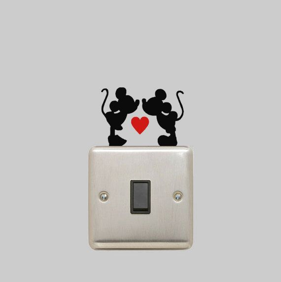 Mickey Mouse And Minnie Mouse Are In Love On Top Of Your Switch