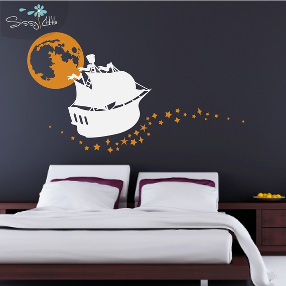 Magical Disney wall decals for decorating bedrooms - Becoration