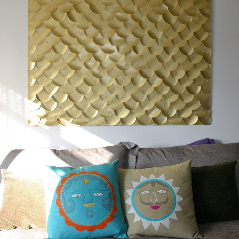 DIY ideas for decorating your bedroom walls-3